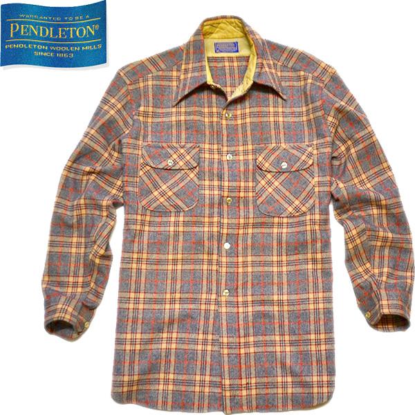 ペンドルトンPendletonウールシャツ画像@古着屋カチカチ01