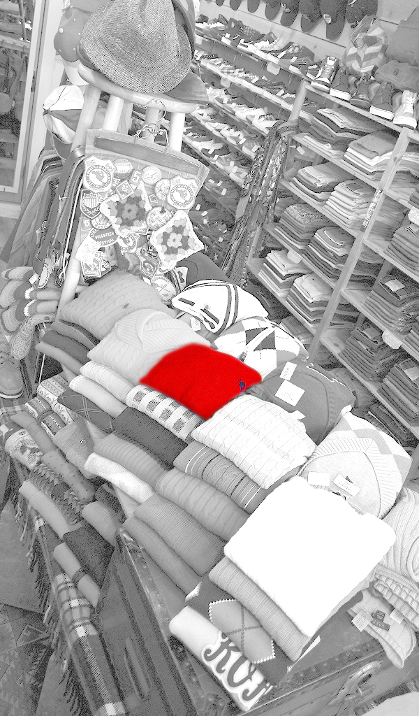 グレースケール赤画像@古着屋カチカチ07