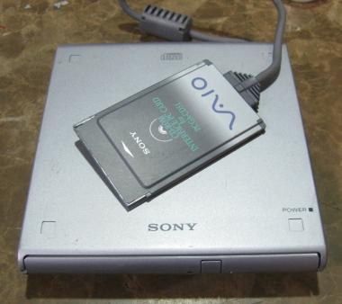 PCMCIA接続 CD-ROMドライブ PCGA-CD51
