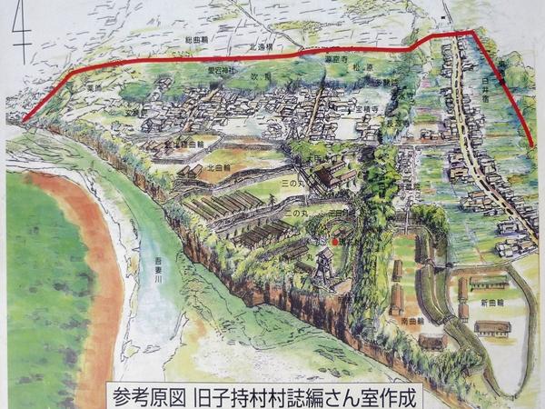 白井城復元図