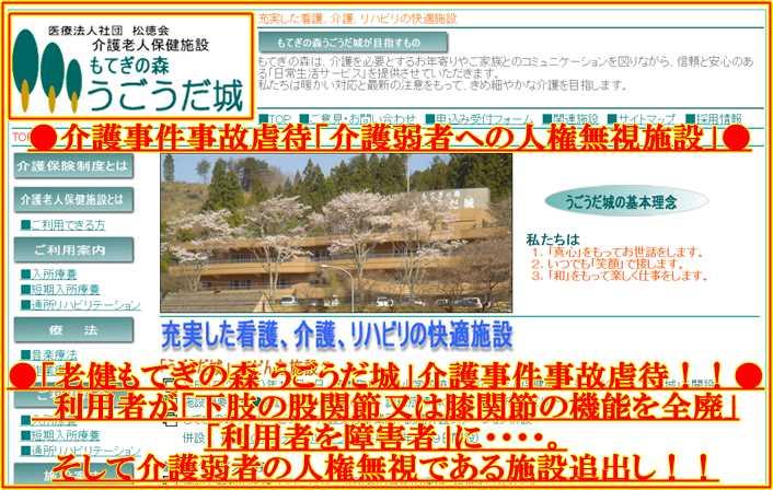 s-医療法人社団 「松徳会」 介護老人保健施設「もてぎの森 うごうだ城」4