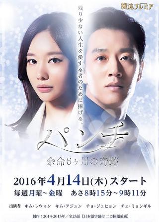 パンチ~余命6ヶ月の奇跡~:テレビ東京
