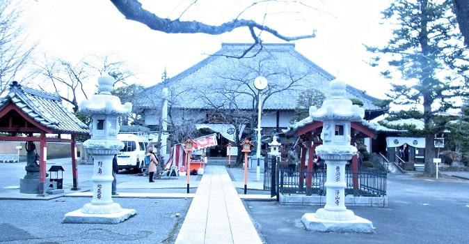 浄山寺境内と本堂