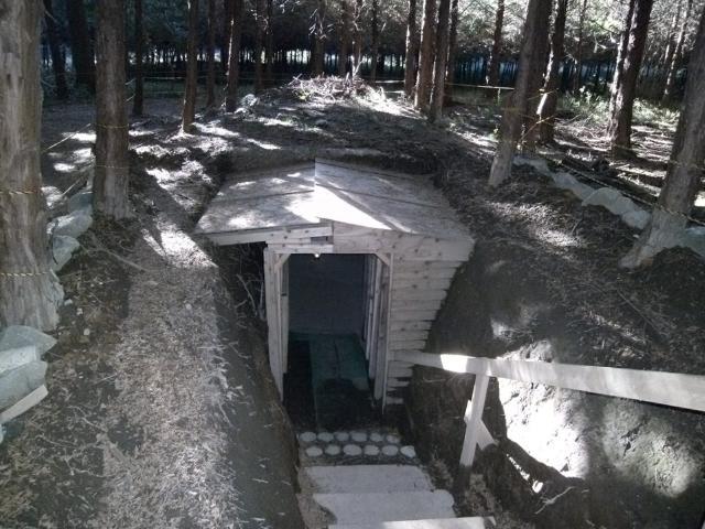 筑波病院壕 (1)
