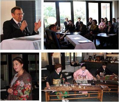 リャボフ在大阪ロシア総領事歓迎会