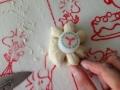 チーズ入りお花パンとチョコ入り犬パン 手順6