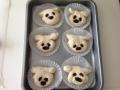 チーズ入りお花パンとチョコ入り犬パン 手順12