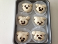 チーズ入りお花パンとチョコ入り犬パン 手順13