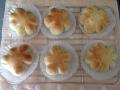 チーズ入りお花パンとチョコ入り犬パン 手順14