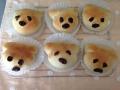チーズ入りお花パンとチョコ入り犬パン 手順15
