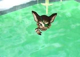 温泉キャラと入浴 (4)