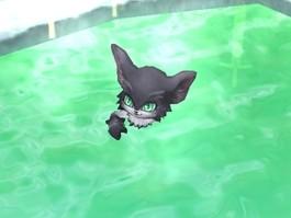 温泉キャラと入浴 (5)
