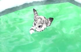 温泉キャラと入浴 (6)