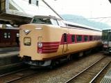 381系特急「こうのとり」 城崎温泉駅にて