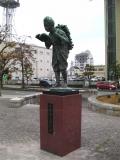 JR掛川駅 二宮金次郎像