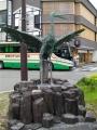 JR城崎温泉駅 鴻のとり像