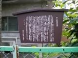 東武下板橋駅 東上鐵道記念碑 説明