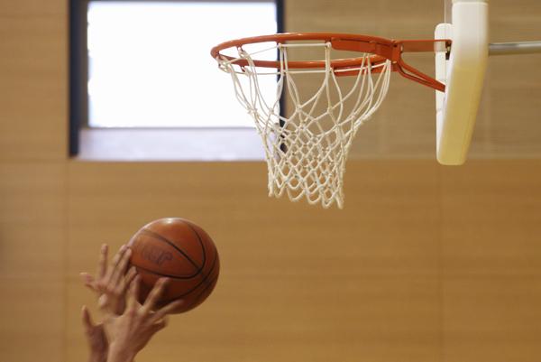 バスケの写真は難しい