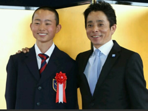 岩田の息子wwww 次男・望来くん競馬学校に入学