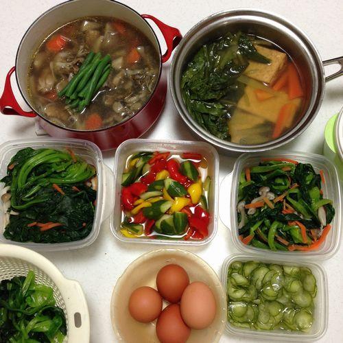 2016.3.30 常備菜つくり(ブログ)