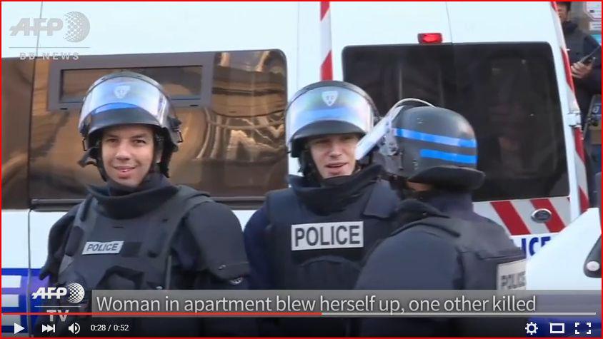 緊迫感がない警察