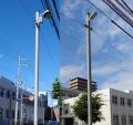 浮島の街路灯