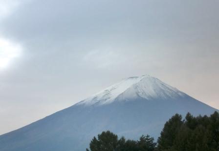 夕方 富士山