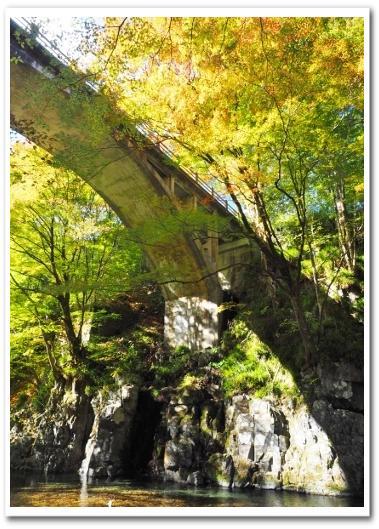 鹿沼 大芦渓谷白井平橋