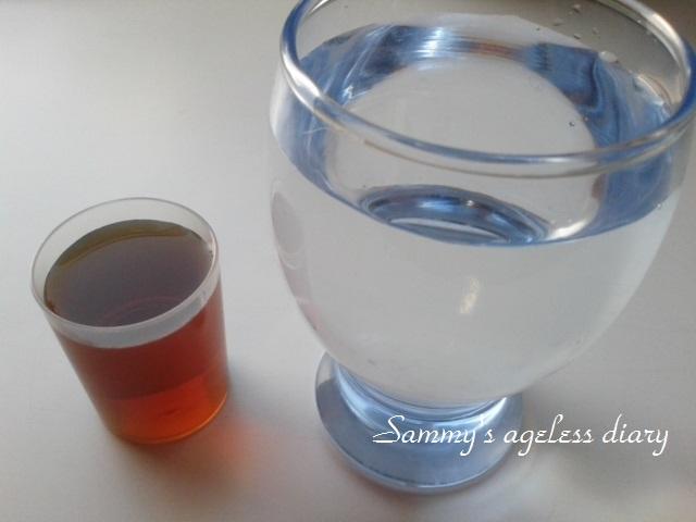 お嬢様酵素 液と水