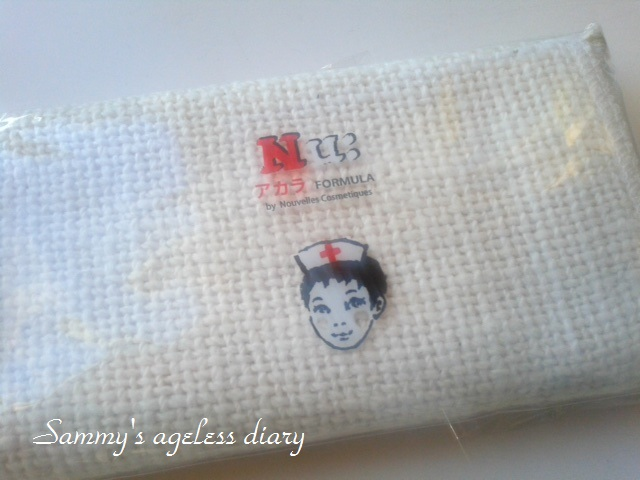 Nu:(ヌウ)アカラフォーミュラ 洗顔用タオル
