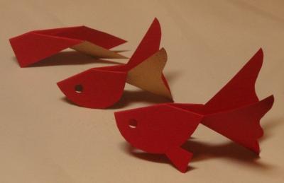 クリスマス 折り紙 折り紙 金魚 : kiriorigami.blog.fc2.com