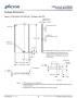 SDRAM外形図