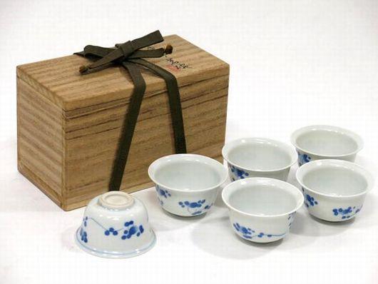 四代 清風与平造 茶碗