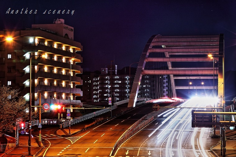鏡川大橋3