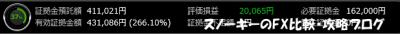 20151205トライオートFX証拠金預託額