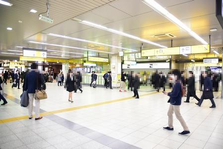 JR浜松町駅3階改札