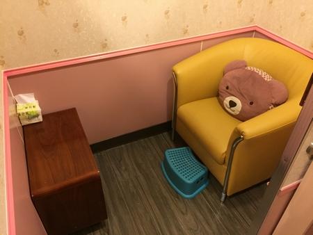 台北MRT淡水駅の授乳室個室