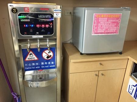 台北動物園の授乳室設備