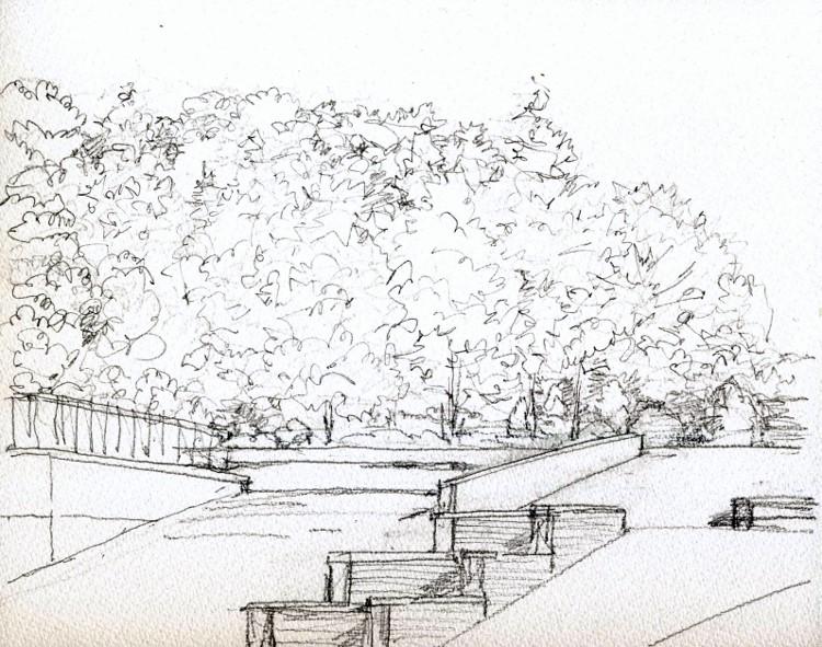 秋の寝屋川公園 デッサン (750x591)