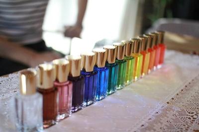 カラーセラピー:カラーボトル