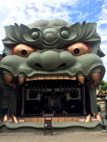 難波八阪神社2