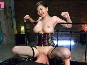 恵比寿マスカッツで活躍中な爆乳痴女が寸止めテクニックでM男を弄ぶ!沖田杏梨