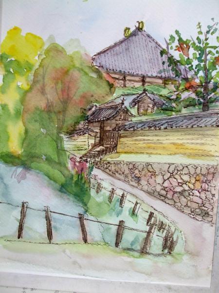 東大寺 裏の池 たて