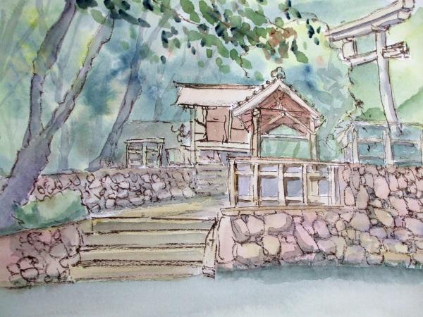 A黒谷 神社