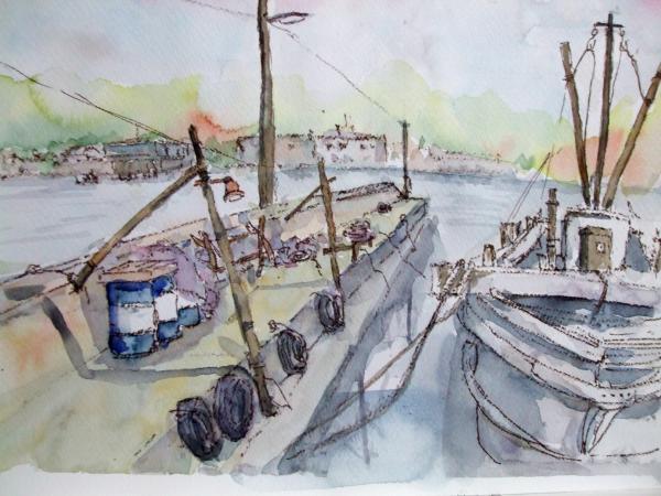 A境港 堤防2