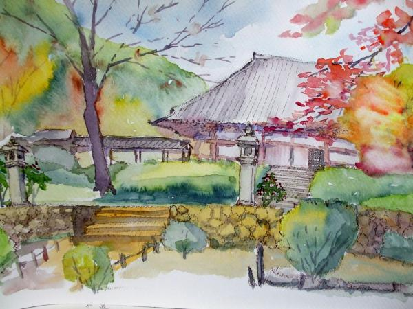 A久安寺 本堂