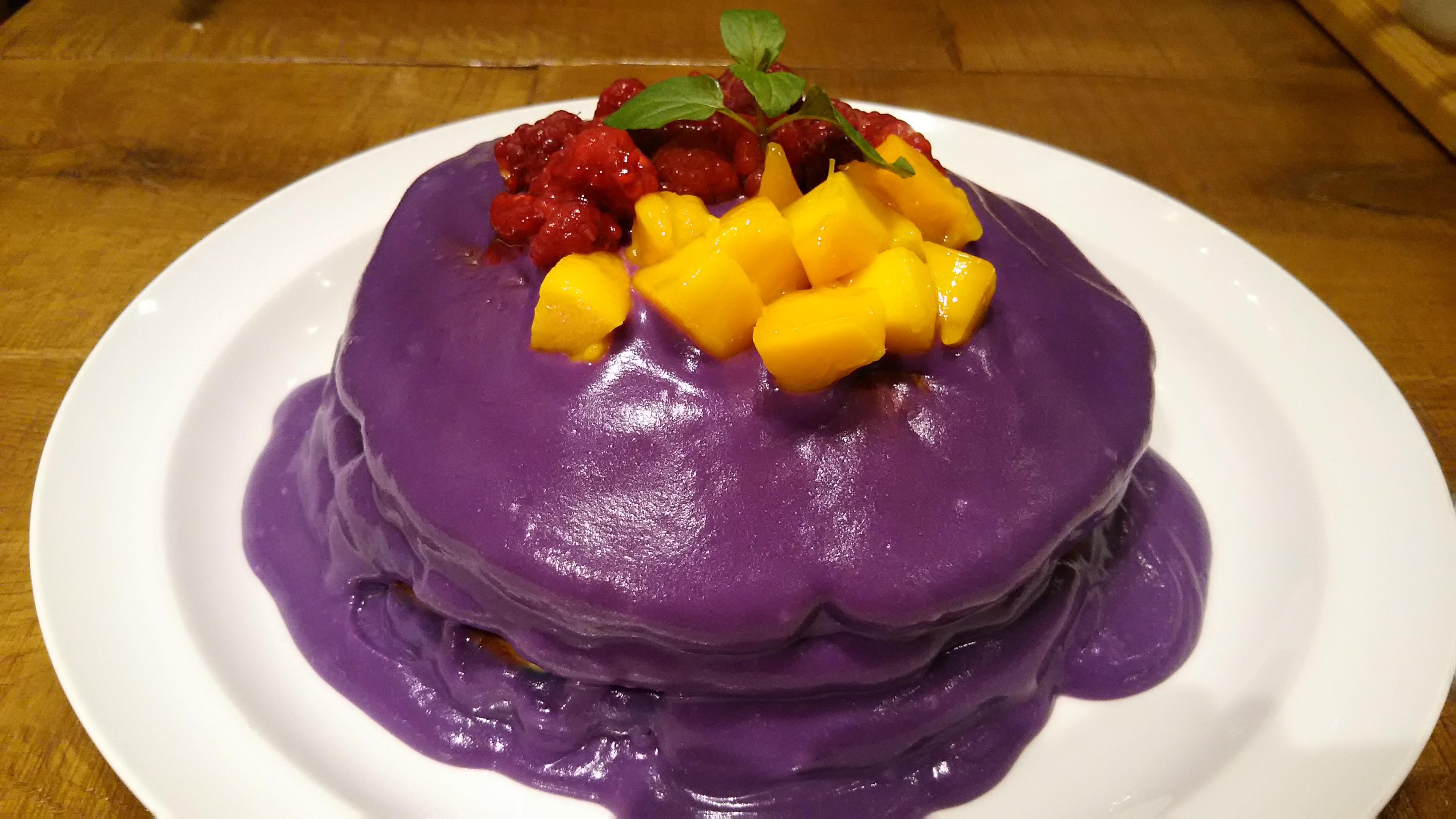 エッグスンシングス紫芋 (2)