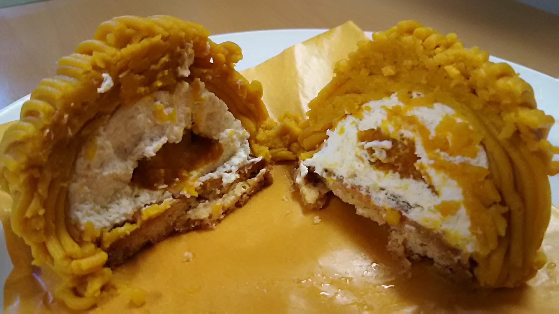 シンかぼちゃモンブラン (3)