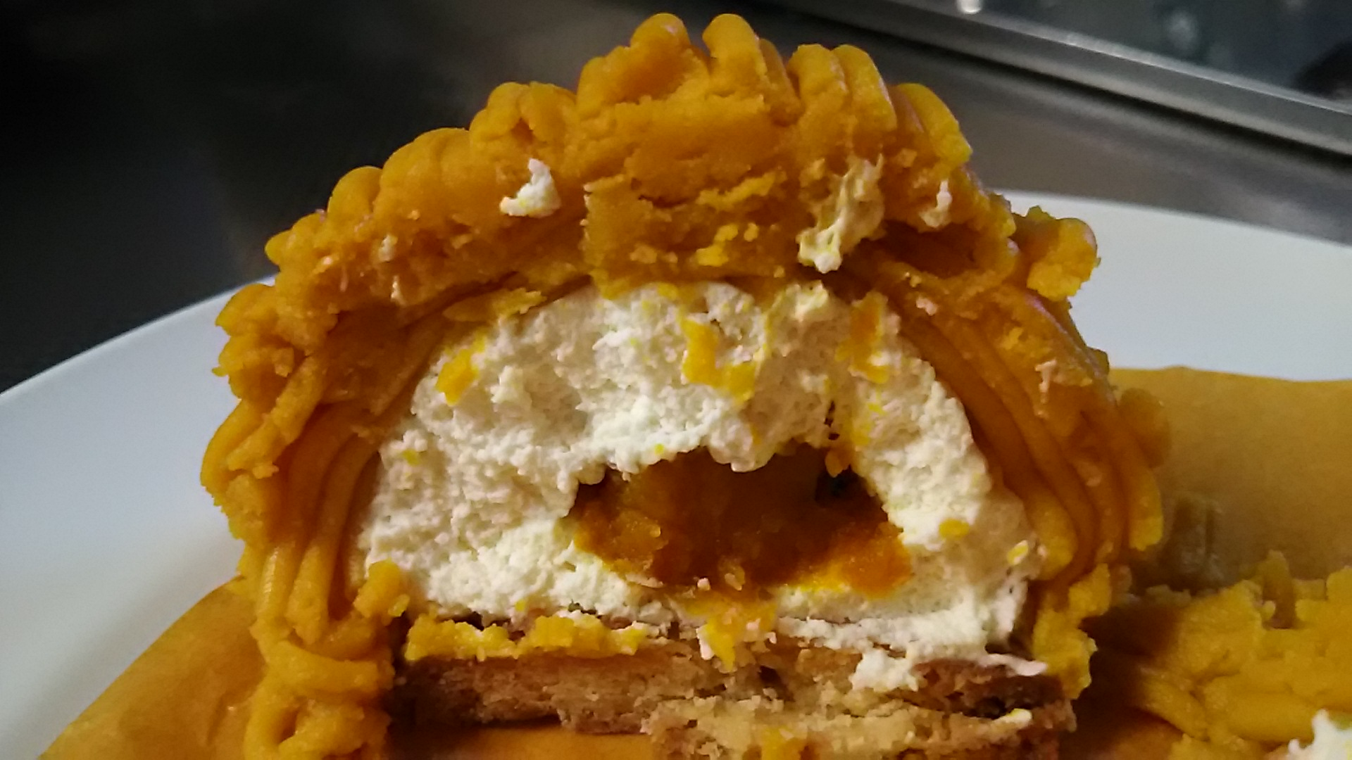 シンかぼちゃモンブラン (5)