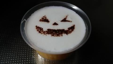 ローソンかぼちゃプリン (2)